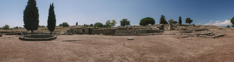 site antique d'aleria