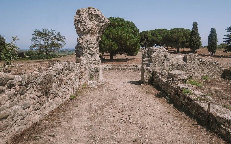 site fouilles aleria