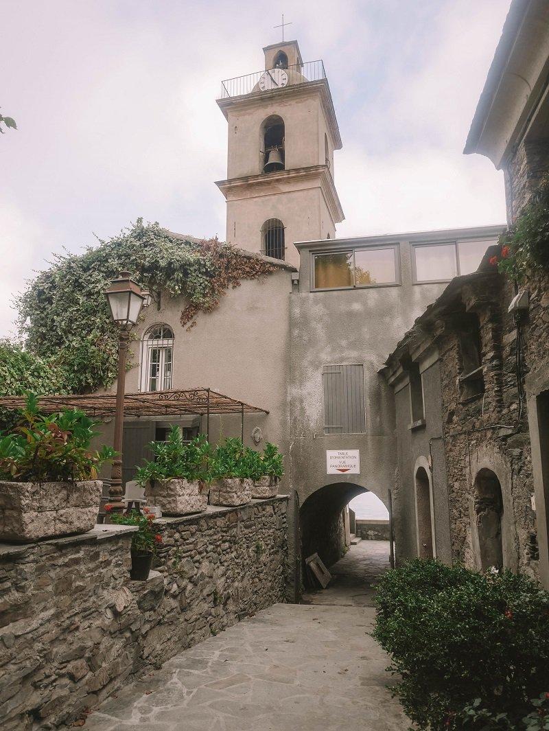 campanile loreto di casinca