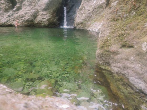 bassin et cascade de sorio