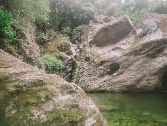 rochers cascade de sorio