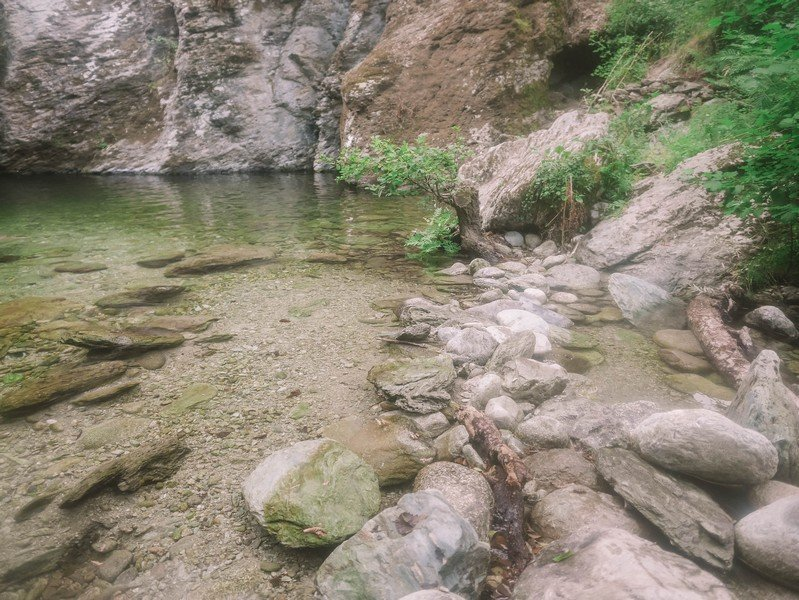 bassin de cascade