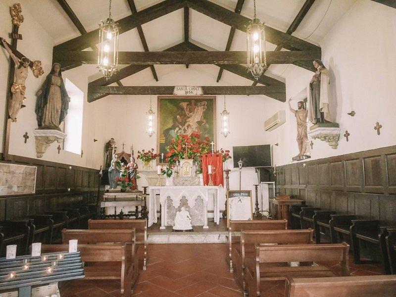 chapelle sainte croix porto vecchio