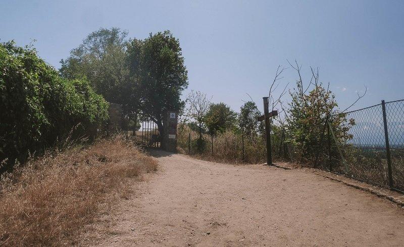 entrée site antique aleria