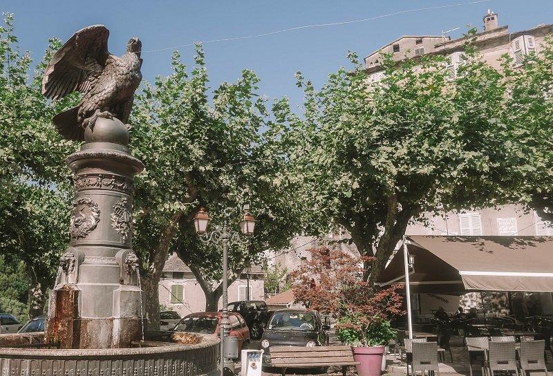 fontaine aigle vescovato