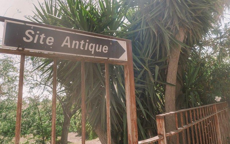 panneau site antique aleria