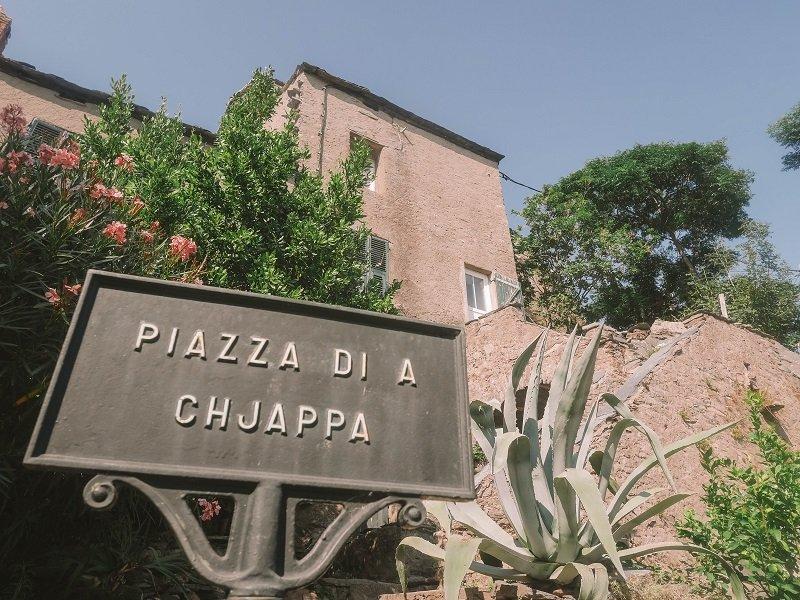 piazza di a chjappa penta