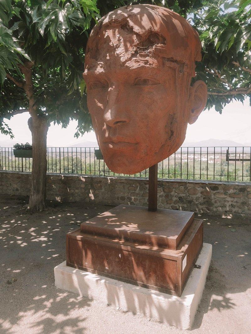 sculpture musée aleria