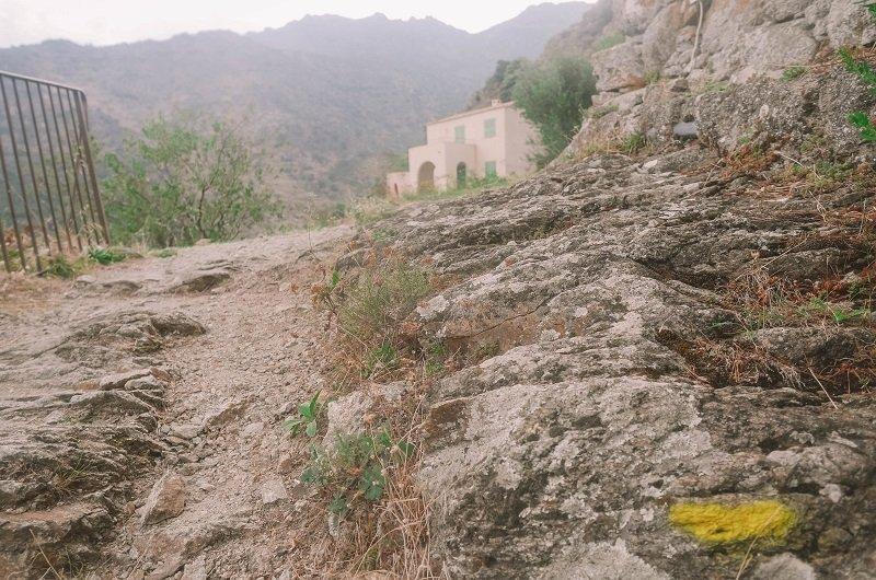 sentier du patrimoine lama corse