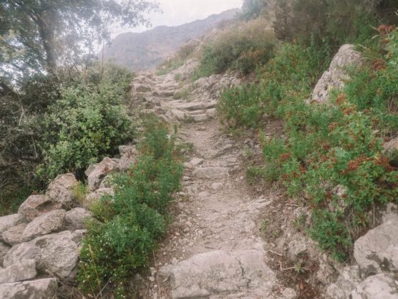 sentier de randonnée balagne