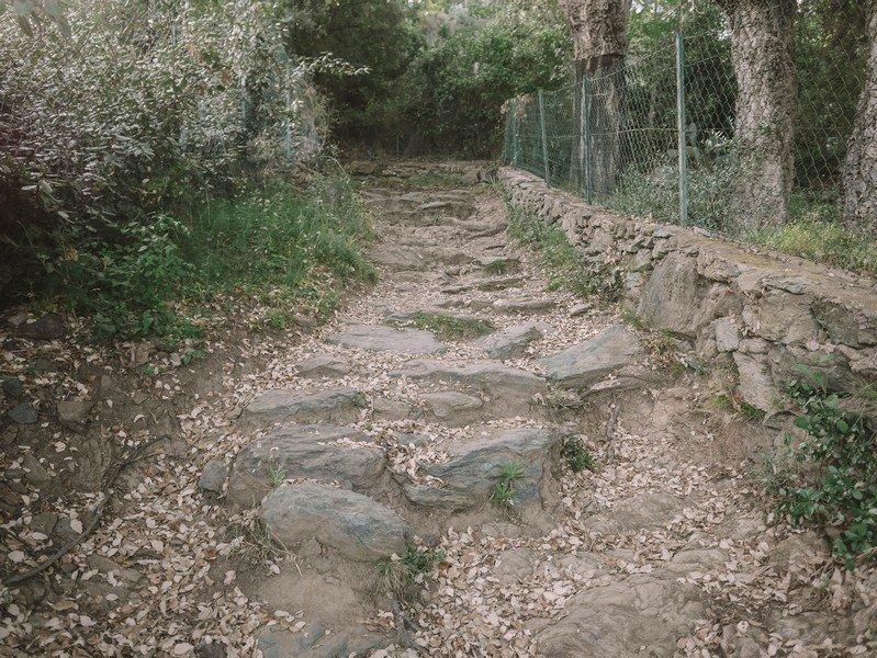 sentier randonnée toga alzeto
