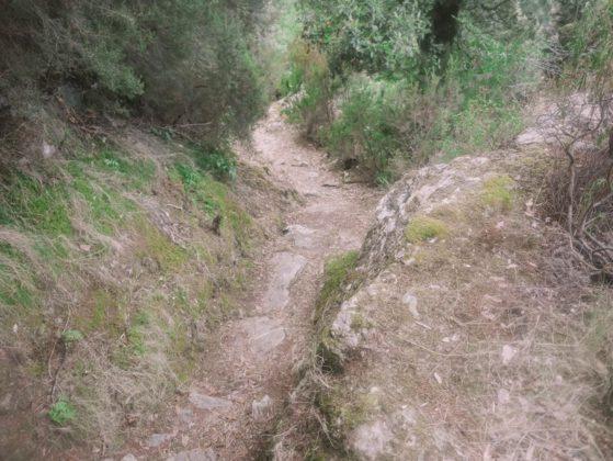 sentier de randonnée sorio