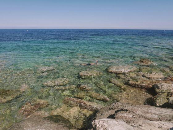 snorkeling plage de Toga