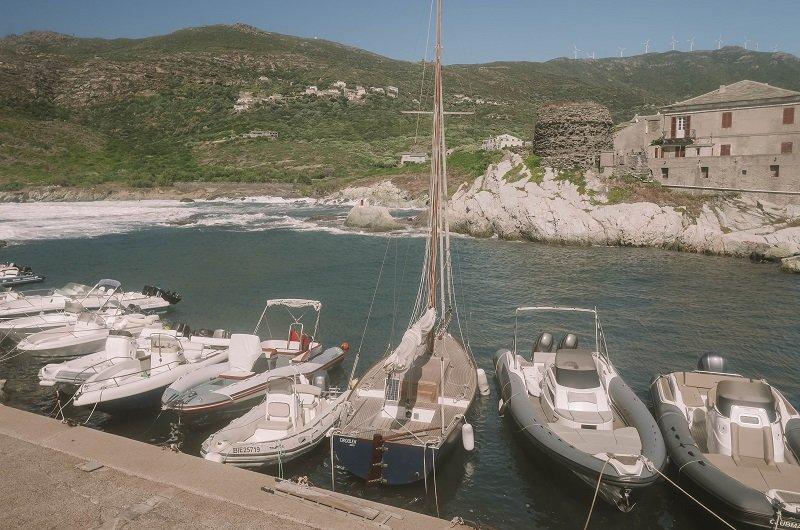 tour genoise port de centuri