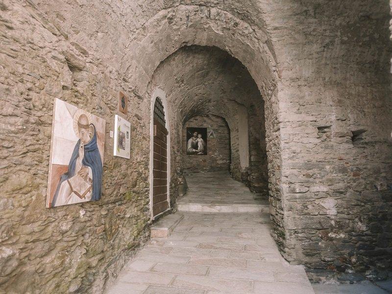 tunnel sous eglise vescovato