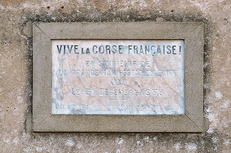 vive la corse française