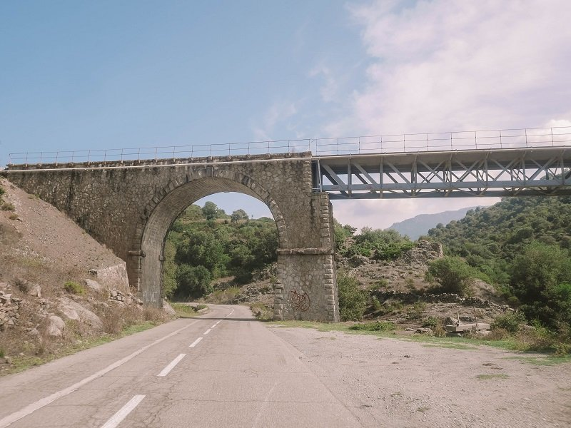 pont route corse