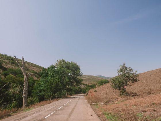 route déserte corse