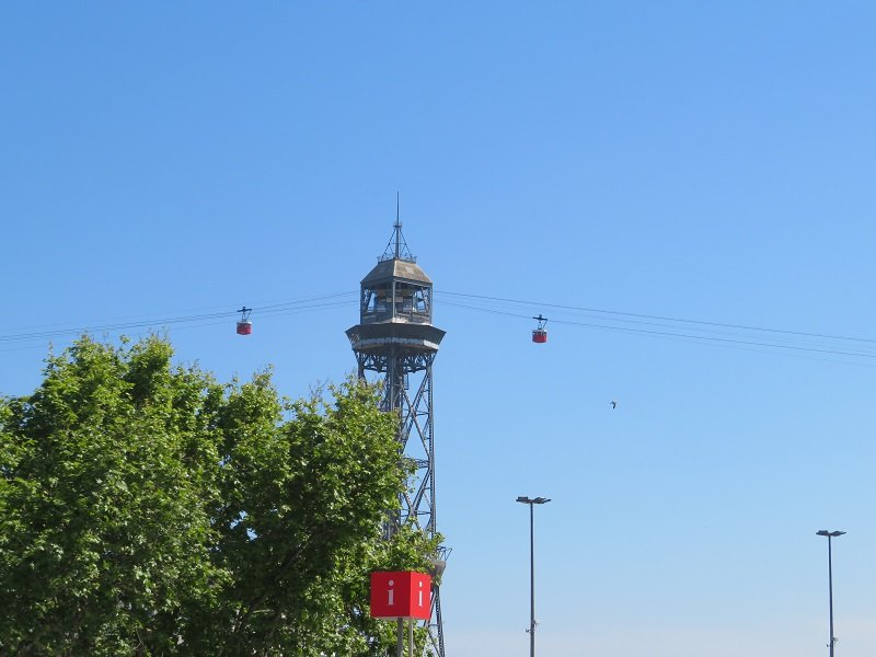 funiculaire montjuic barcelone