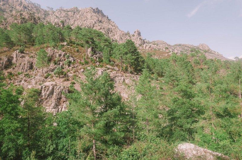 montagnes de la restonica