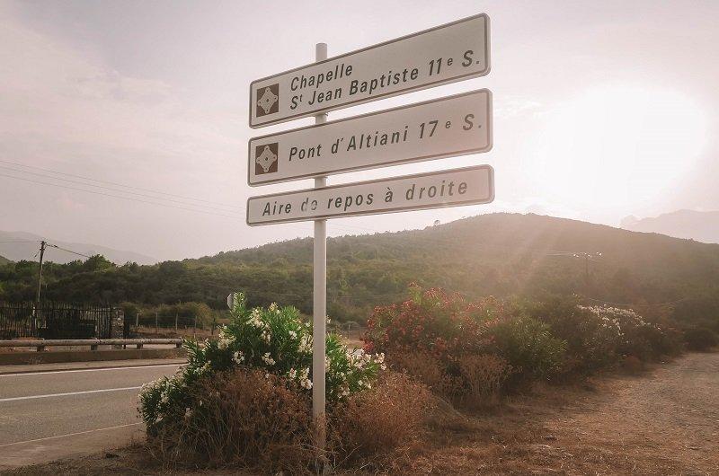 panneau pont d'altiani