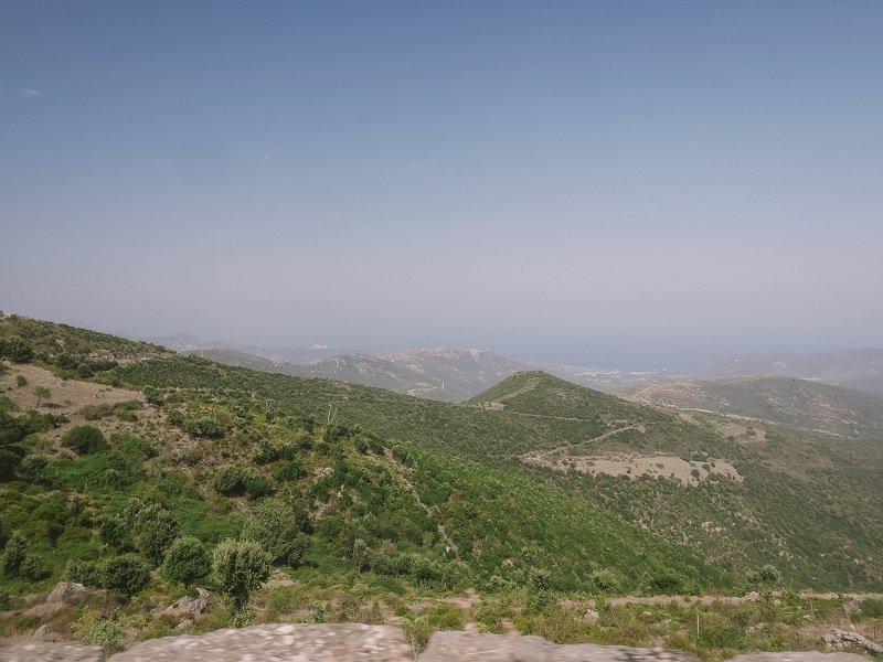 panorama route de belgodere