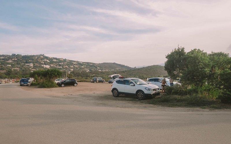 parking sentier littoral st florent