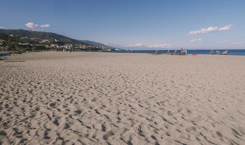plage de l'arinella bastia