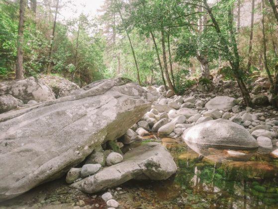rochers de la restonica