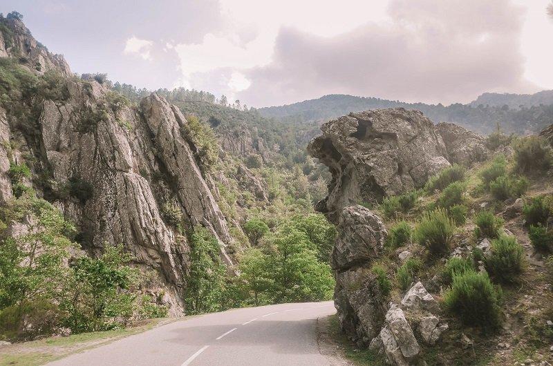 route de la restonica