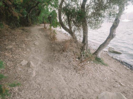 sentier du littoral de saint florent