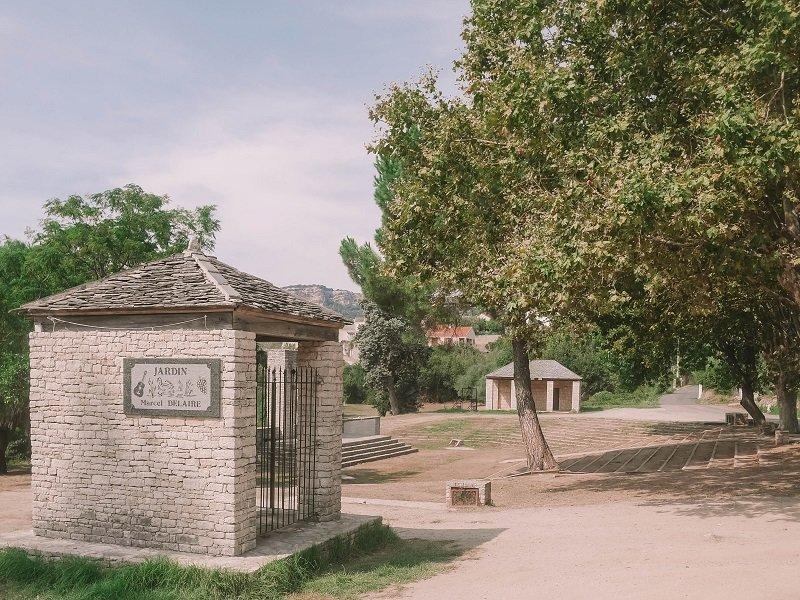 jardin marcel delaire propriano