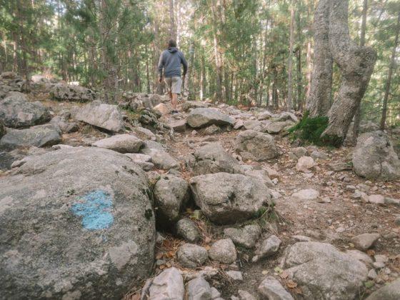 sentier cascade de radule