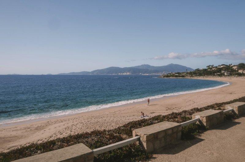 plage agosta porticcio