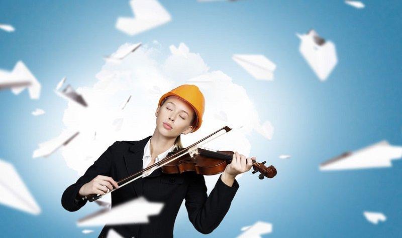 prendre l'avion avec instruments de musique