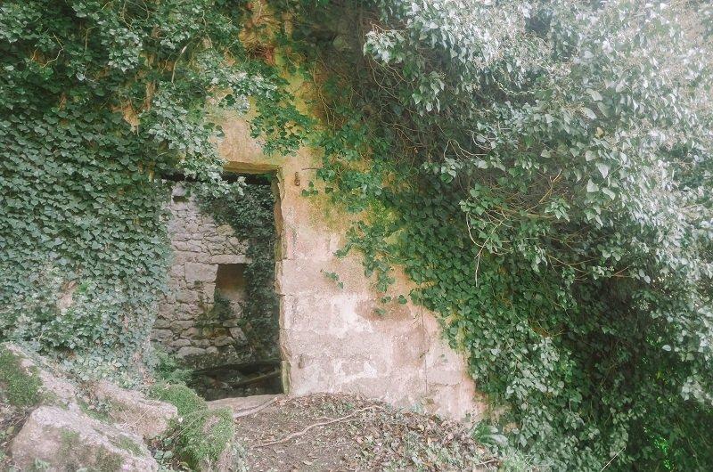 moulin en ruine corse