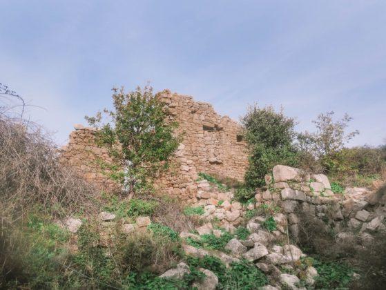 maisons en ruine