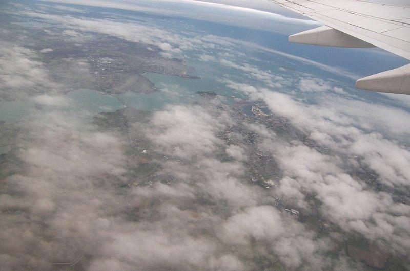 nuage vue avion