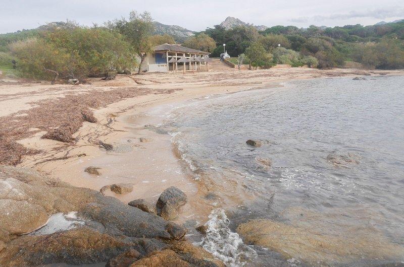 plage d'arinella lumio