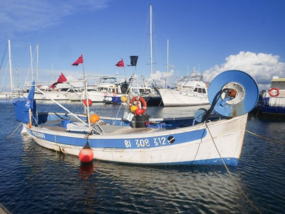 bateau pêche macinaggio