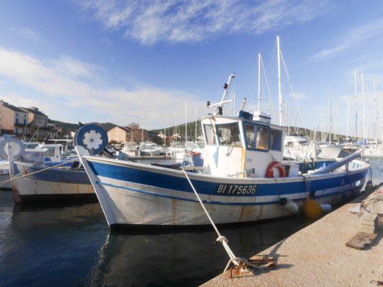 bateau traditionnel peche corse