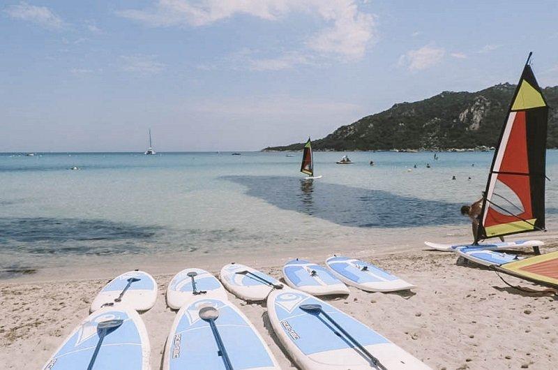 activités nautiques santa giulia