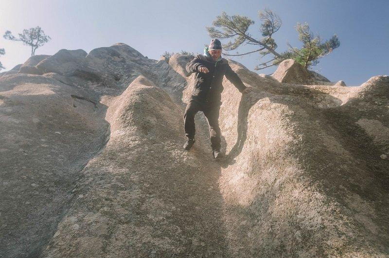 escalade rocher ospedale