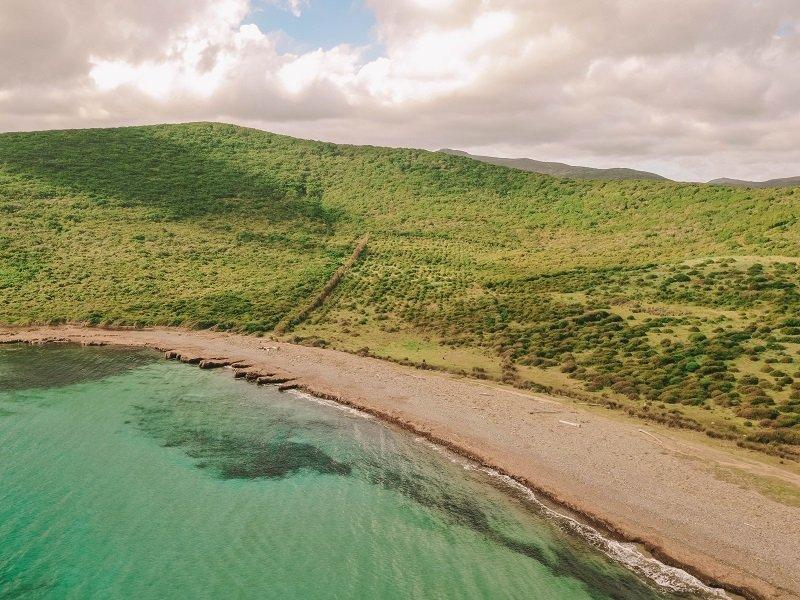 plage réserve naturelle Finocchiarola