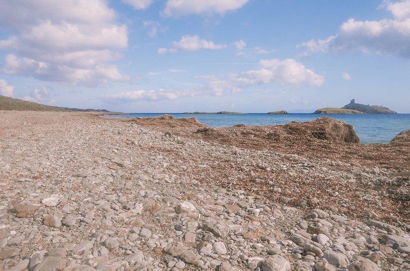 plage des iles rogliano