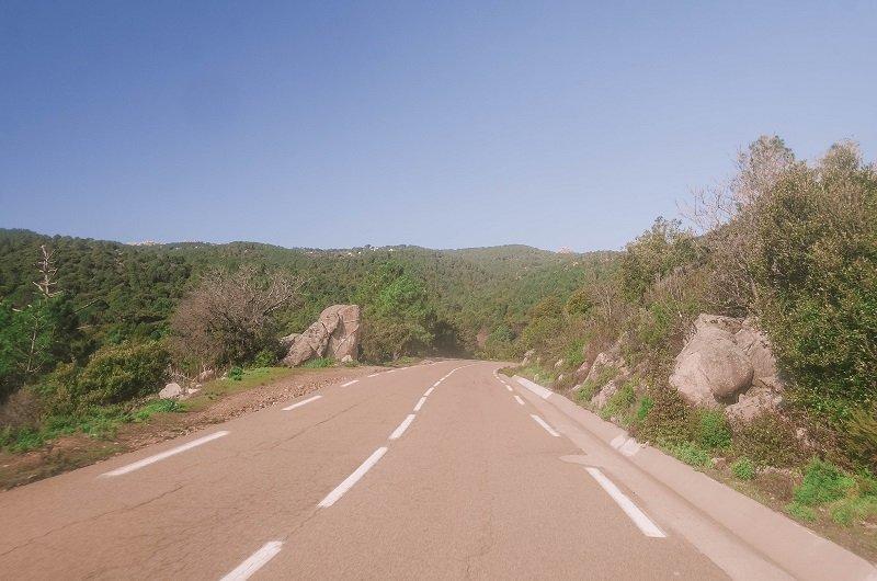 route d368 porto vecchio