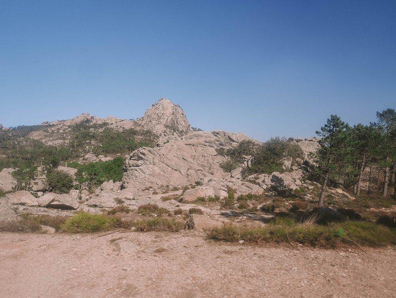 paysage montagne corse