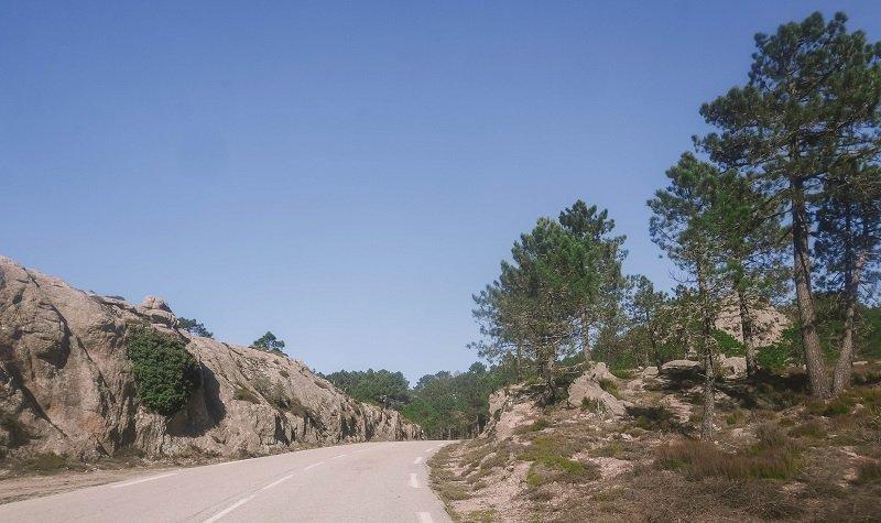 route porto vecchio zonza