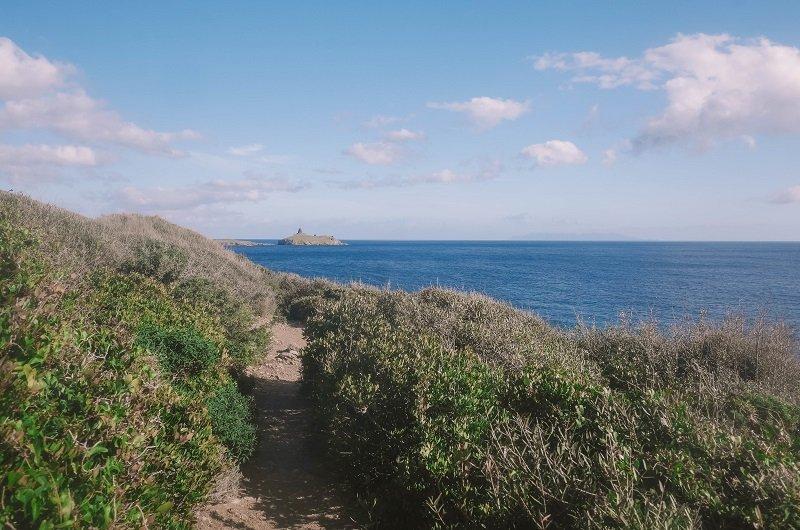 sentier plage des iles Finocchiarola