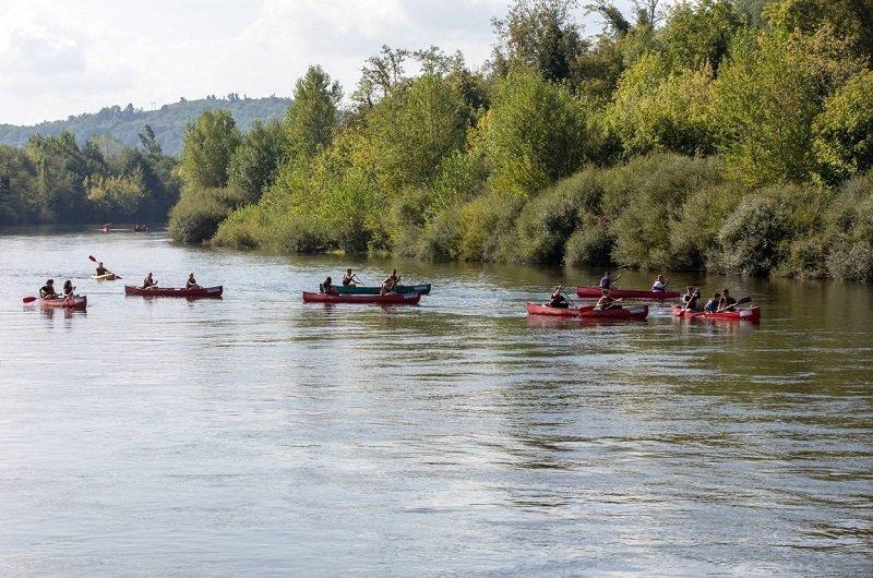 canoe vallée dordogne